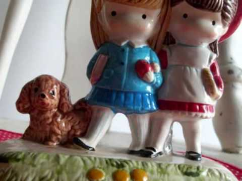 vintage figurines from ricracandbuttons.etsy.com.wmv