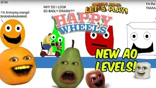 Annoying Orange Plays - Happy Wheels: NEW AO LEVELS