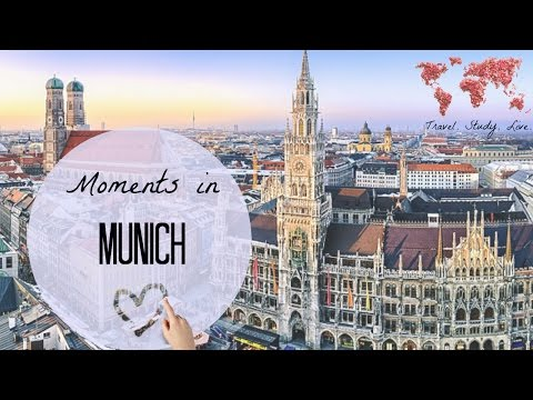 PLACES to visit in MUNICH ♡ Germany, Bavaria // GoPro HERO4: TOUR and INTERESTING FACTS