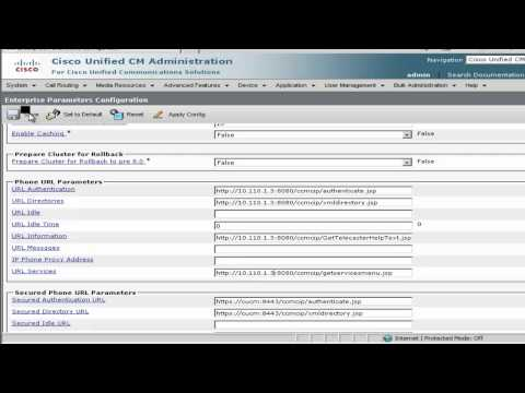 Cisco Business Edition 6000 (BE6K) - LDAP and CUCM 8.6 Initial Configuration