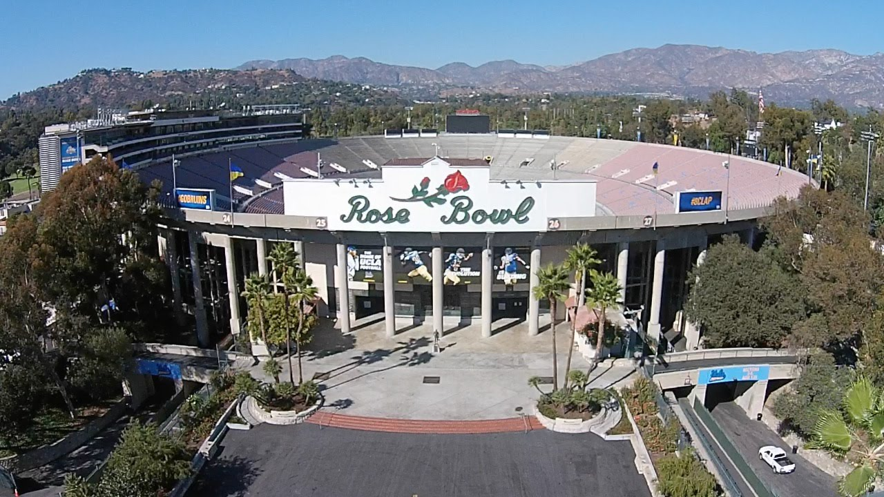 2014 rose bowl an aerial view with no sound youtube