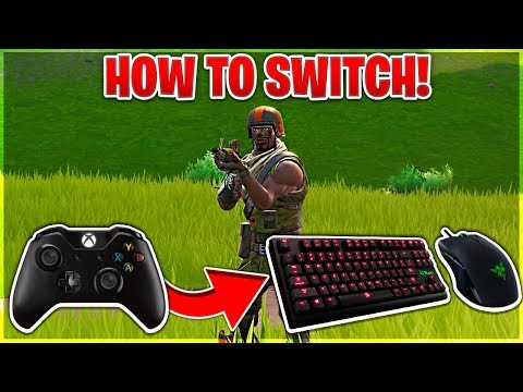 How To Switch From Controller to Keyboard and Mouse FAST in Fortnite! (Console To PC Guide)