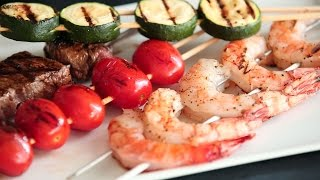 Four Tips for Grilling Kabobs