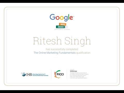 Google Digital Unlocked Answers