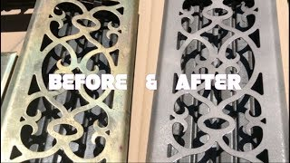 HOW TO UPDATE AIR VENT COVER | How to paint floor register