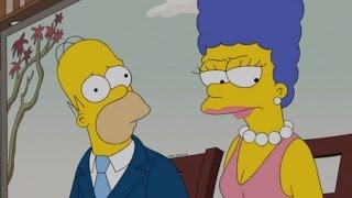 Los Simpson temporada 27 la separacion de Homero y Marge y Bart muere