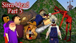 Siren Head Horror Story Part 5 | Horror Stories Film Short Movie Gulli bulli | Zombies Mjh