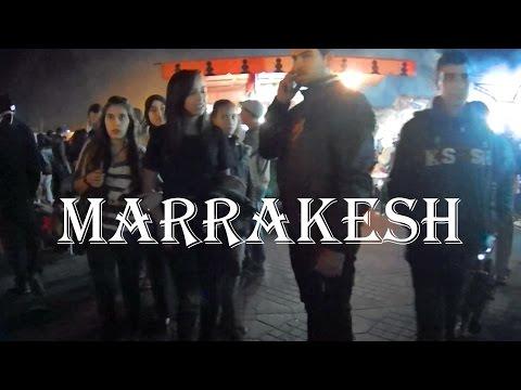 MARRAKESH, MOROCCO Crazy Night Scene: The Main Square