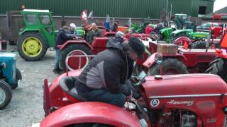 Trekker tractor toer tour tocht door  H.T.C. de Krommerijn Zaterdag 20-05-2017