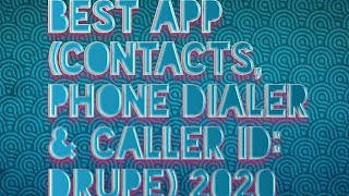 Contacts, Phone Dialer & Caller ID: drupe ONE TWO TECH screenshot 3