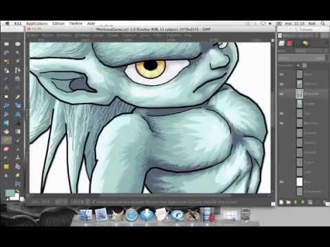 Petit loup garou dessin acc l r x36 youtube - Dessin loup garou ...