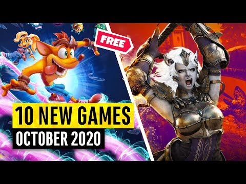 10 New Games October (3 FREE GAMES!)