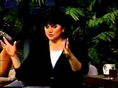 Linda Ronstadt & Aaron Neville Interview on Johnny Carson 1990