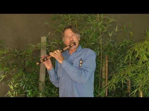 Sacha Huarmi's Blessing by Greg White Hunt on a Transverse flute in F