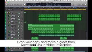 House Logic Pro X Template Just Dance by Saftik