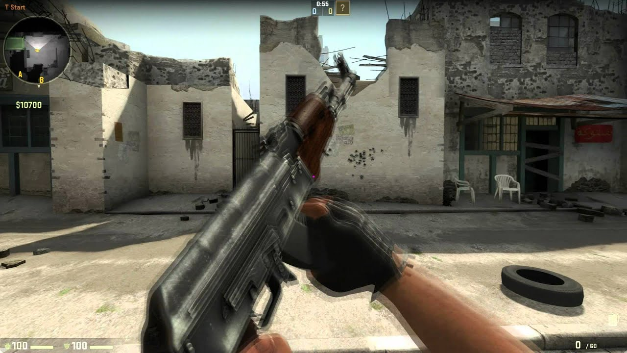 CS:GO New Spray Pattern (04/20/2012) - YouTube