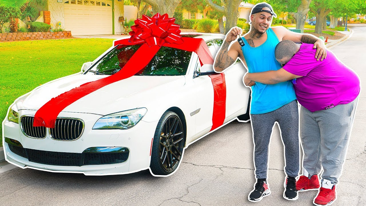 i bought my brother his dream car emotional