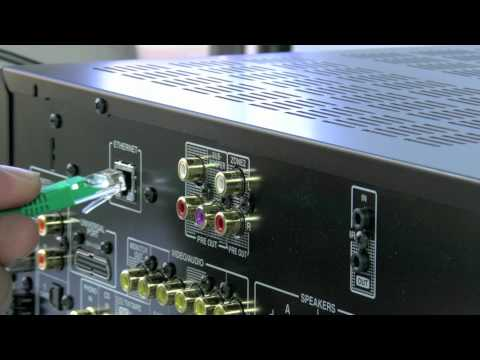 ONKYO TX-8050 Stereo Network Receiver - How to use