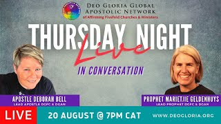 Thursday Night LIVE E10 with Deborah & Marietjie (20 Aug 2020)