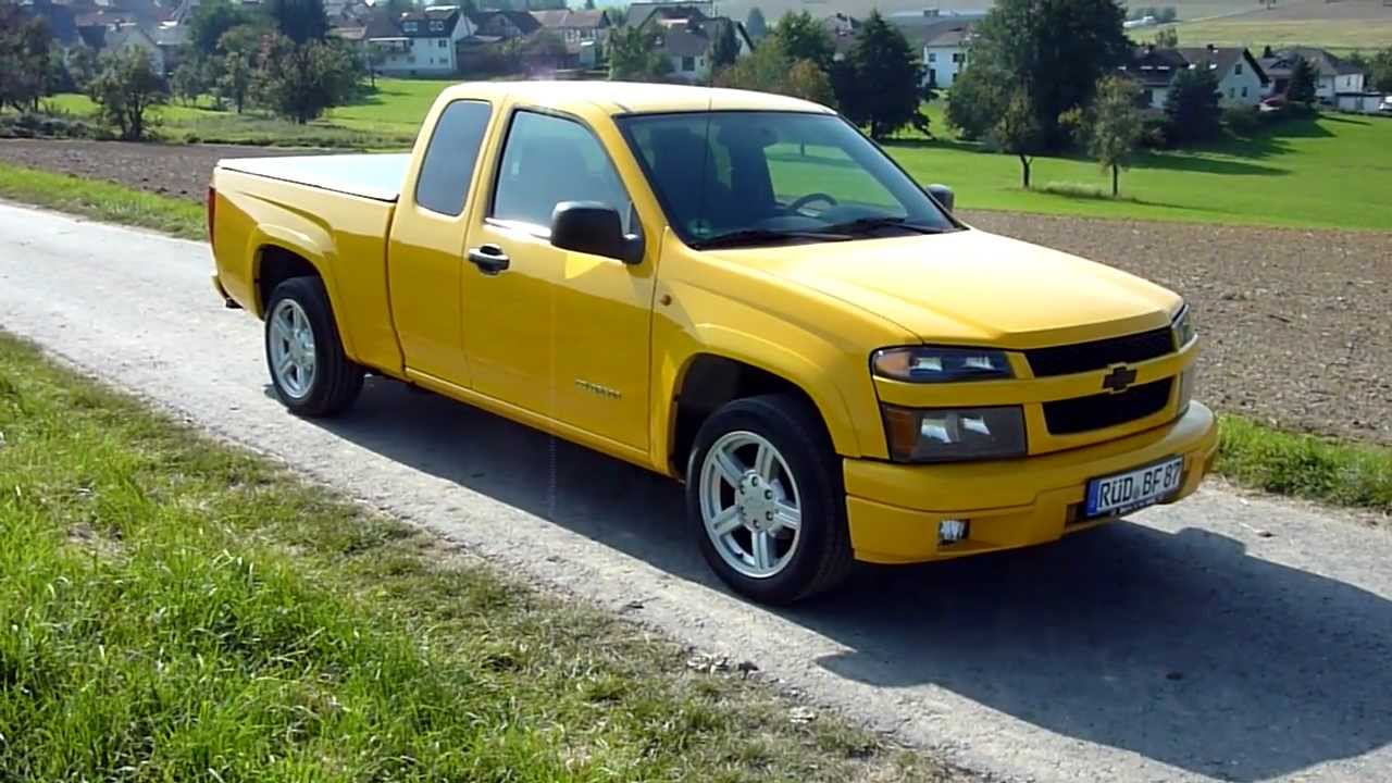 2005 chevrolet colorado ls zq8 - youtube