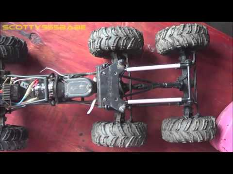 RC TIPS & TRICKS  How to Make a Double Drive Axle - 6x6