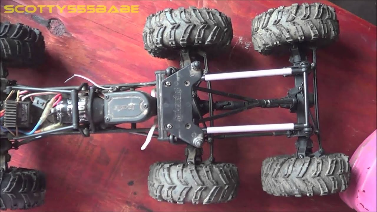 RC TIPS & TRICKS  How to Make a Double Drive Axle - 6x6 CONVERSION