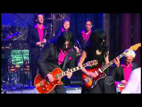 Wanda Jackson wJack White  Shakin All Over 120 Letterman TheAudioPervcom