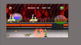 Dark Night Commando Ops Retro Game Shooter iOs and Android game