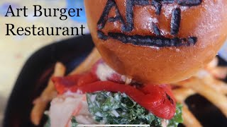 Art Burger/Sushi/Bar is a restaurant on Myrtle Beach Boulevard, als...