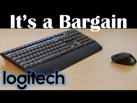 Dependable yet cheap Wireless Keyboard & Mouse - Logitech MK345