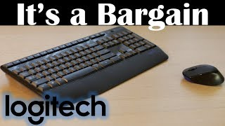 best Value Wireless Keyboard and Mouse  Logitech MK220 (mk230m150) Review
