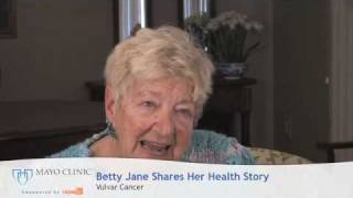 Betty Jane Shares The Vulvar Cancer Treatments She Received At Mayo Clinic