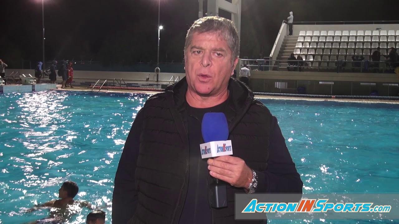 Δηλώσεις για το 2020 του Φράγκο Γιάννη, ομοσπονδιακού προπονητή υδατοσφαίρισης