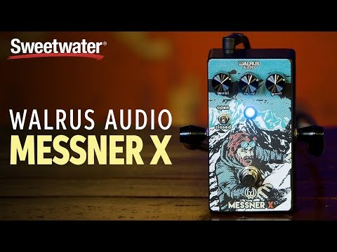 Walrus Audio Messner X Transparent Overdrive Pedal Review