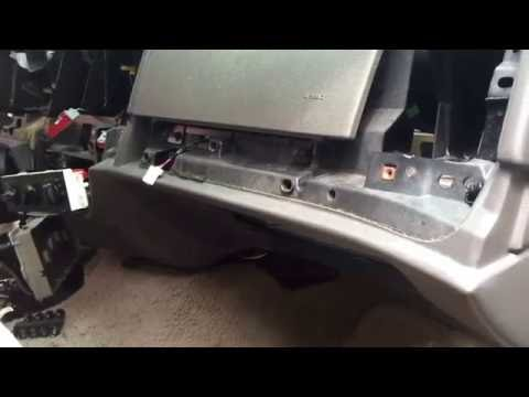 2008 Mercury Temperature Blend Door Actuator Motor Grand Marquis Crown Victoria Replacement Shortcut Youtube