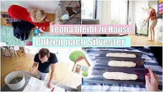 Mein größtes Geschenk 😍 | Hausputz nach Silvester & Brot backen | Isabeau