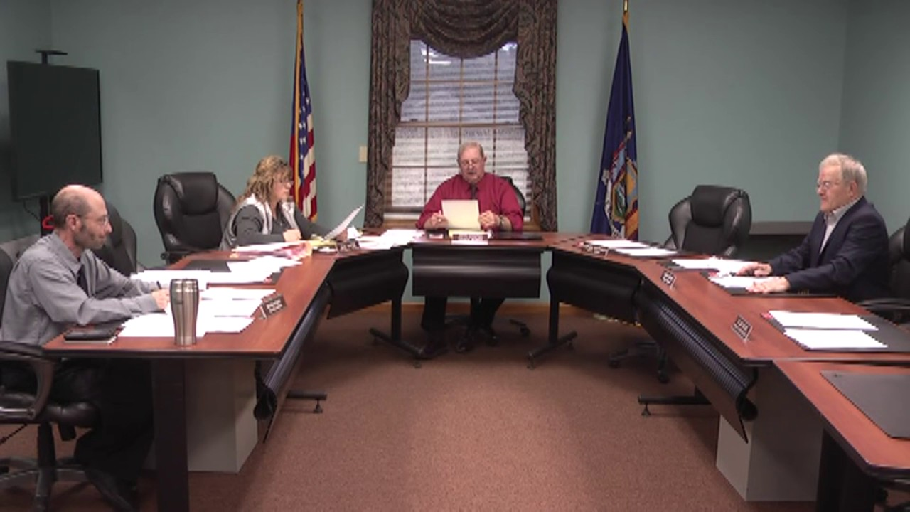 Champlain Town Board Meeting  4-11-17