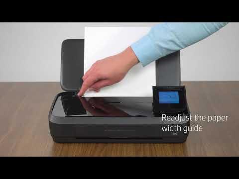 HP OfficeJet 250 - Unboxing