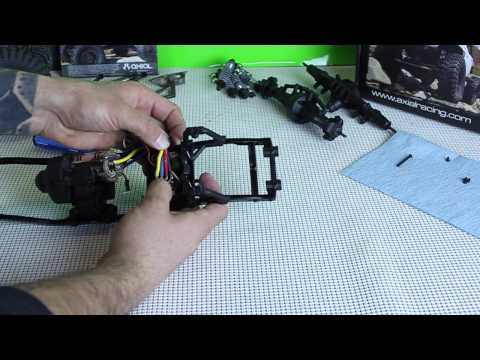 Axial SCX10 Jeep Wrangler G6 Electronics Build