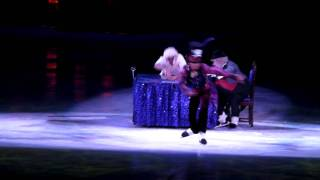 Repeat youtube video Dr Facilier on Ice Theron James Dare To Dream Disney on Ice