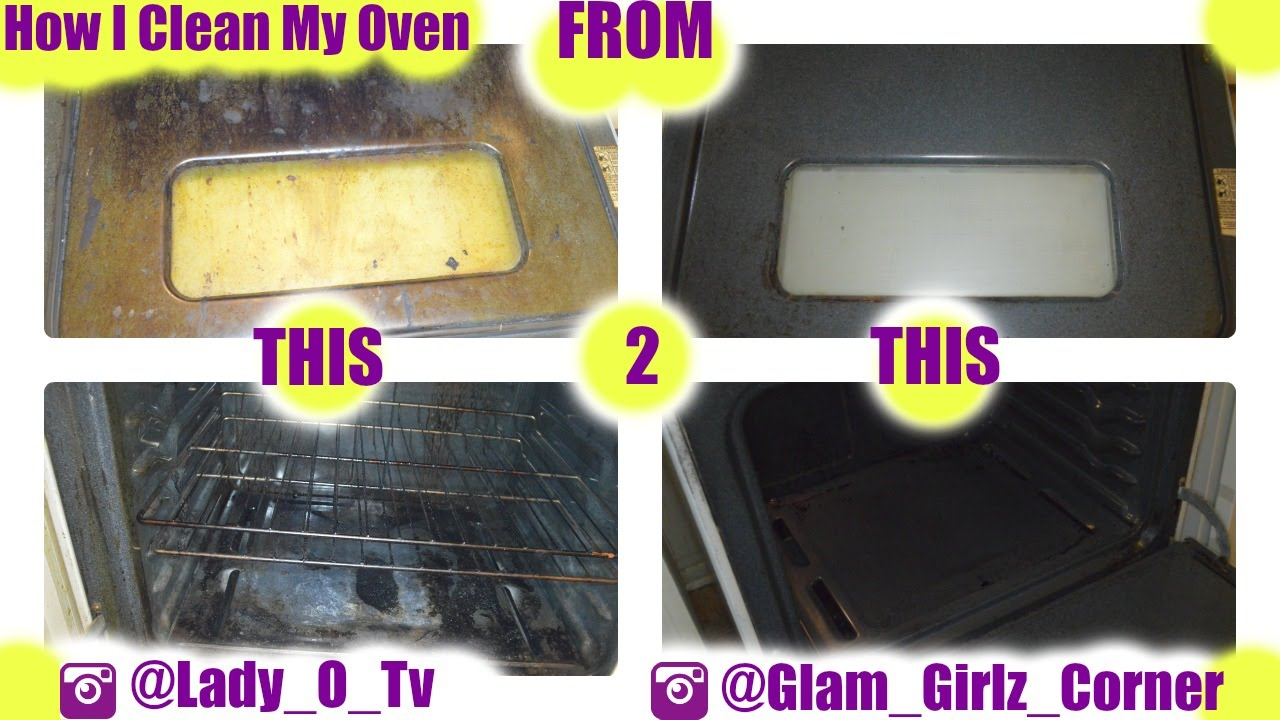 how to clean your oven with baking soda and vinegar youtube. Black Bedroom Furniture Sets. Home Design Ideas