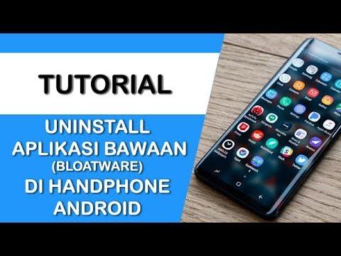 Cara menghapus aplikasi bawaan Samsung Galaxy J2.
