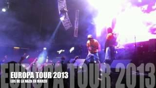 EL IMPERIO NAZZA  - EUROPA TOUR 2013 - MARZO