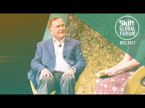 Royal Caribbean Cruises Ltd. Chairman & CEO Richard Fain at Skift Global Forum 2017