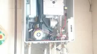 Чистка теплообменника горячей воды газового котла dgb-200 (дгб-200)