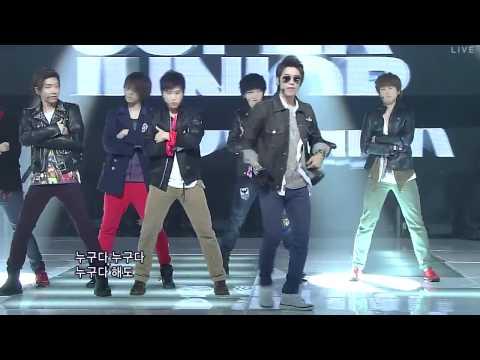 110807 HD Super Junior   Superman Mr Simple LIVE