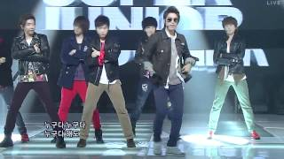 110807 HD Super Junior   Superman Mr Simple LIVE