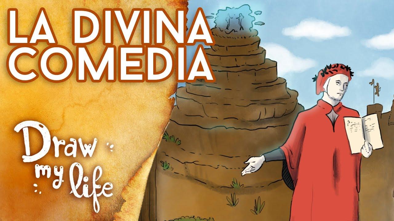 RESUMIMOS La Divina Comedia de Dante - Draw My Life en Español