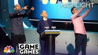 Ellen's Game of Games - You Bet Your Wife: Episode 7 (Highlight)
