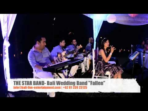 "THE STAR BAND ACOUSTIC - WEDDING BAND BALI ""FALLEN"" Acoustic Band Bali at Matt & Moe wedding"